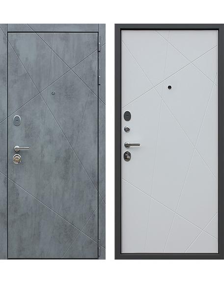 Дверь АСД Дуэт-Б Белый матовый