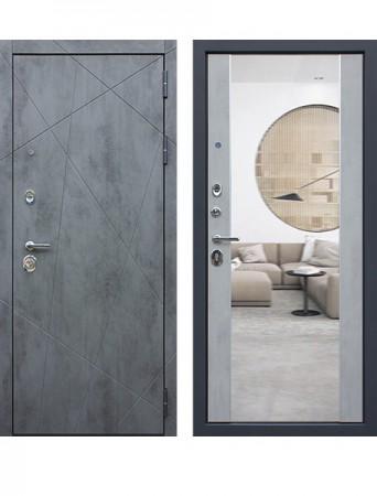 Дверь АСД Дуэт-Б с зеркалом