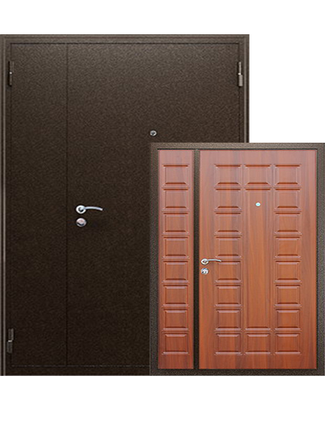 Дверь АСД Двустворчатая