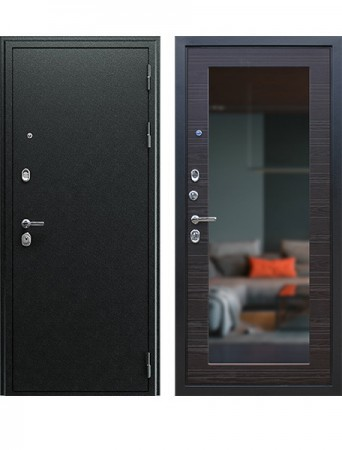 Дверь АСД Next-1 с зеркалом Венге поперечный