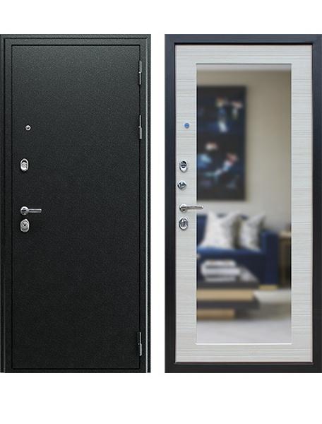 Дверь АСД Next-1 с зеркалом Акация светлая поперечная
