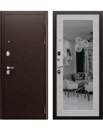 Дверь АСД Спартак с зеркалом
