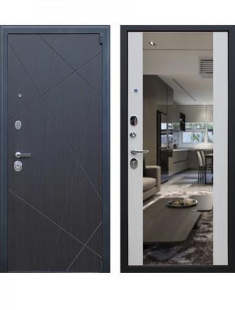 Дверь АСД Вектор с зеркалом