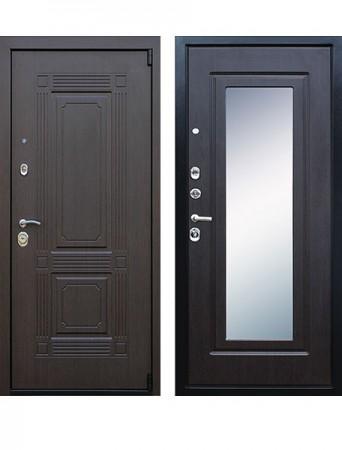 Дверь АСД Викинг с зеркалом Венге