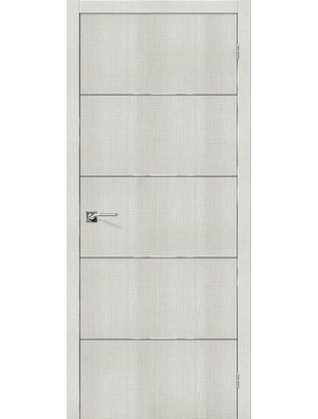 Дверь Порта-50А Бьянко Кросскут