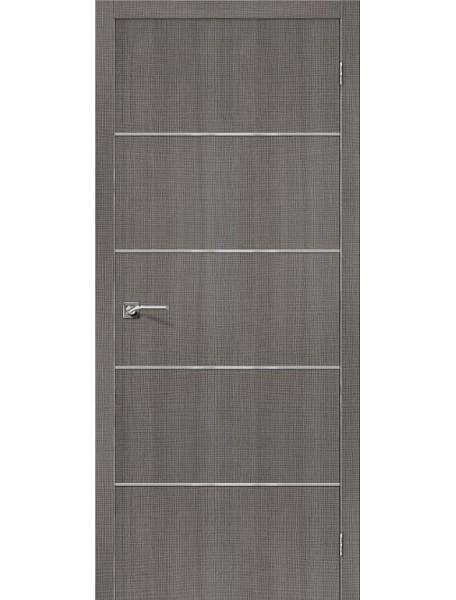 Дверь Порта-50А Грей Кросскут