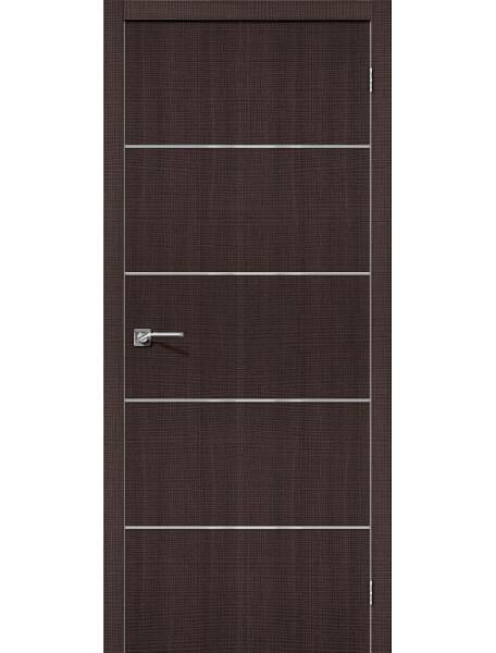 Дверь Порта-50А Венге Кросскут