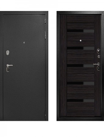 Дверь Дверной Континент Рубикон Царга Эко Венге
