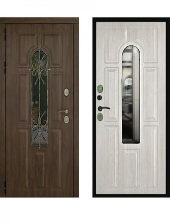 Дверь Дверной Континент Лион стеклопакет+ковка