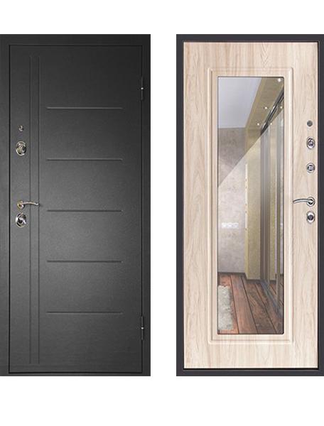 Дверь Дверной Континент Сити Зеркало - 3К Дуб сонома