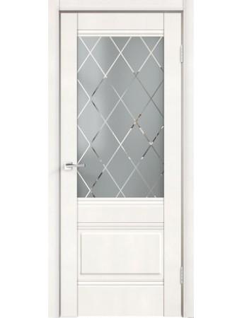 Дверь Alto 2V Эмалит белый