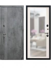 Дверь Воевода Лучник-4Б Сандал белый с зеркалом