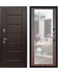 Дверь Воевода Лучник-6 Дуб Филадельфия коньяк с зеркалом