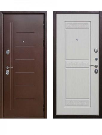 Дверь 10 см Троя Антик Белый ясень