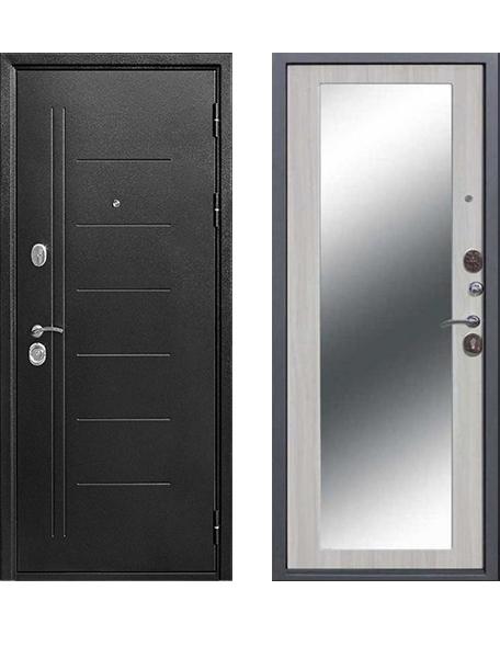 Дверь 10 см Троя Серебро Макси зеркало