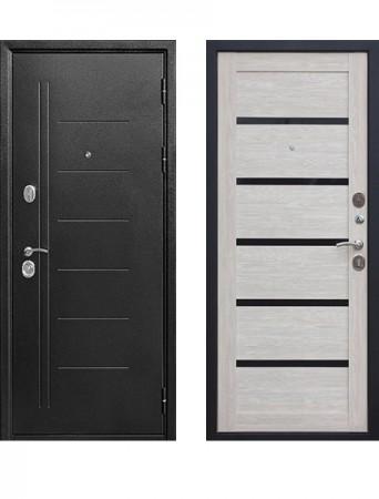Дверь 10 см Троя Серебро Дымчатый дуб