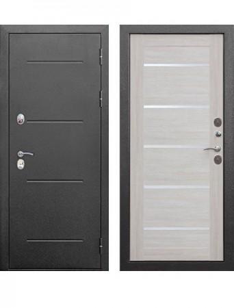 Дверь 11 см ISOTERMA Серебро Лиственница беж