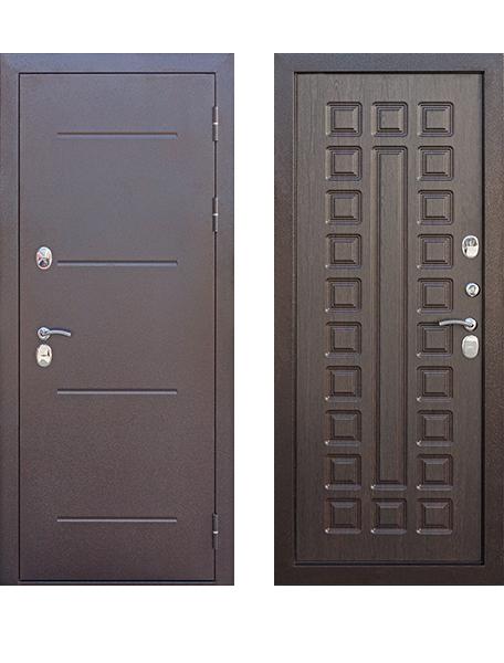 Дверь 11 см ISOTERMA медный антик Венге