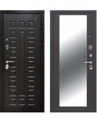 Дверь 12 см Сенатор Зеркало Венге