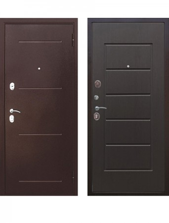 Дверь 7.5 см Гарда медный антик Венге
