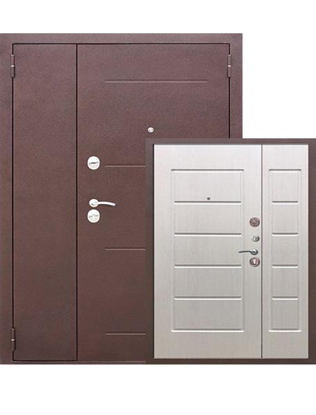 Дверь 7.5 см Гарда Двухстворчатая Белый ясень