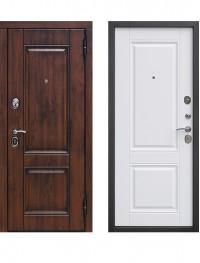 Дверь 9.5 Вена Винорит Патина Белый матовый