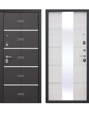 Дверь 9.5 см Европа Белый ясень