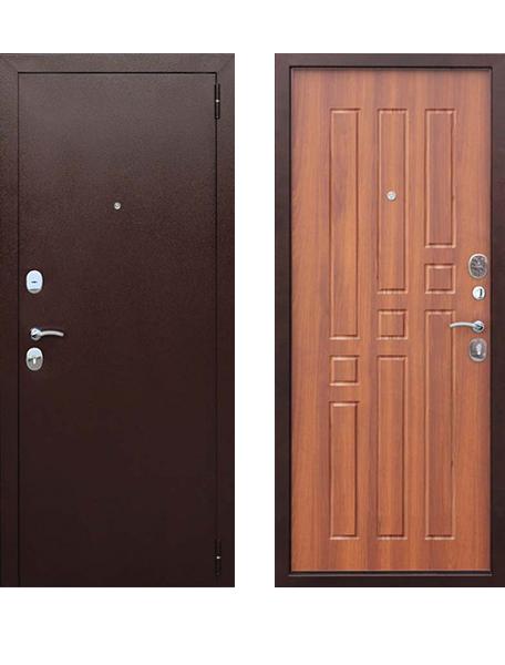 Дверь Гарда 8 мм Рустикальный дуб