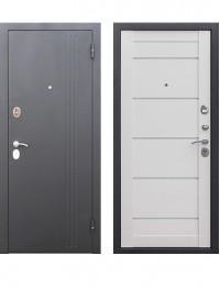 Дверь 7.5 см Нью Йорк ясень белый эмаль