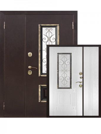 Дверь Венеция Белый ясень 1200*2050