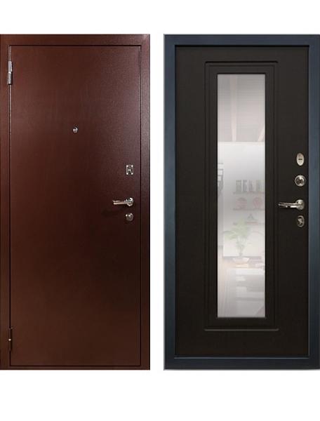 Дверь Лекс 1А с зеркалом Венге
